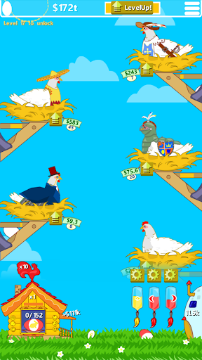 Idle Chicken Farm: Discover and Paint Easter Eggs https screenshots 1