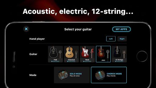 Guitar - play music games, pro tabs and chords! screenshots 4