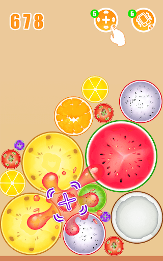 Fruit Crush - Merge Watermelon  screenshots 23