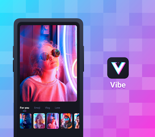 Vibe: Music Video Maker, Effect, No Skill Need poster