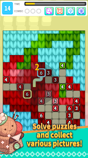 Drawoolly - Picture Completing puzzle game