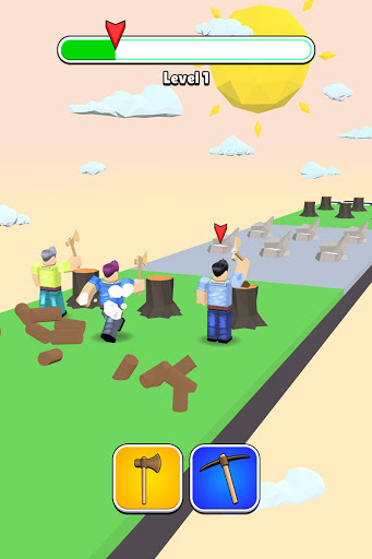 Roblock Transform Run - Epic Craft Race apkpoly screenshots 9