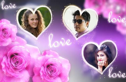 Love Photo frames Collage  screenshots 1