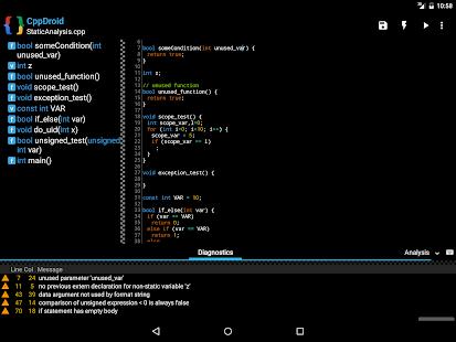 CppDroid - C/C++ IDE 3.3.3 Screenshots 9