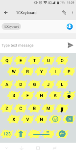 1C Big Keyboard Screenshot