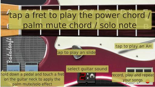 Power guitar HD ud83cudfb8 chords, guitar solos, palm mute 3.4 screenshots 3