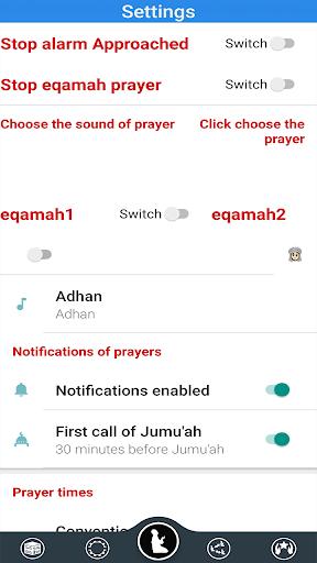 Prayer Timings Muslim Salatuk android2mod screenshots 7