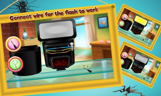 Camera Repair Shop Game  screenshots 3