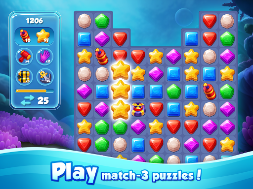Aqua Blast: Fish Matching 3 Puzzle & Ball Blast 1.4.2 screenshots 10