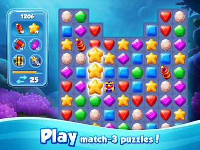 Aqua Blast: Fish Matching 3 Puzzle & Ball Blast 10