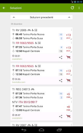 Train Timetable Italy  Screenshots 11