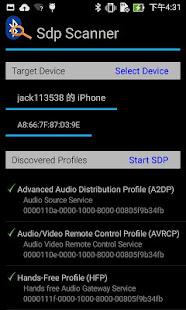 Bluetooth Profile Scanner 1.0 Screenshots 1