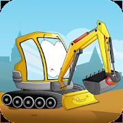 Kids construction vehicles