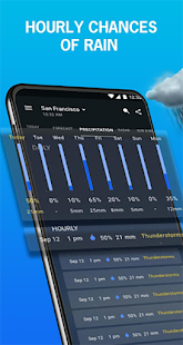 1Weather: Weather Forecast, Widget, Alerts & Radar Screenshot