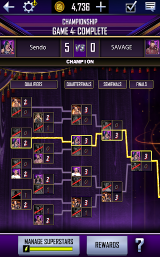 WWE SuperCard - Multiplayer Collector Card Game Apkfinish screenshots 13