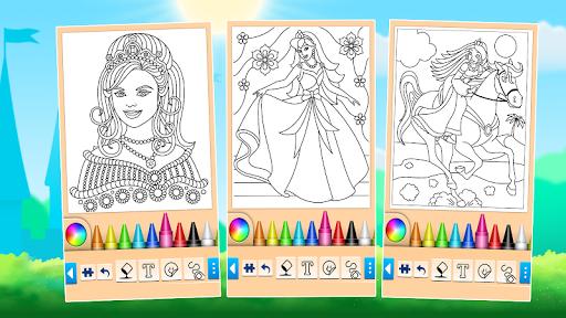 Princess Coloring Game 15.3.8 Screenshots 12