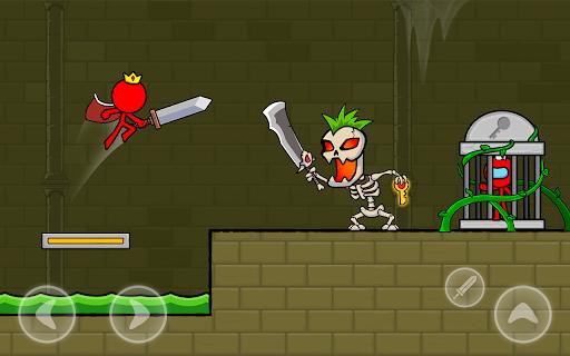 Red Stickman : Animation vs Stickman Fighting android2mod screenshots 16