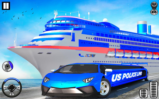 US Police Limo Transport, Aeroplane transport Game 1.0.9 screenshots 13