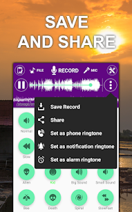 Voice changer sound effects (MOD, Pro) v1.3.7 4