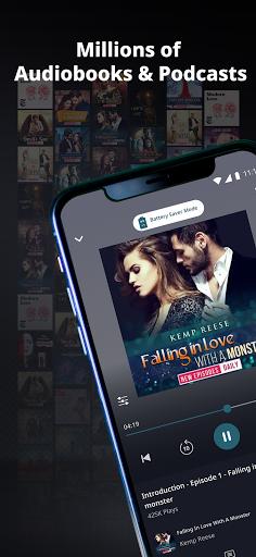 Pocket FM - Audiobooks, Stories & Podcasts screenshots 1