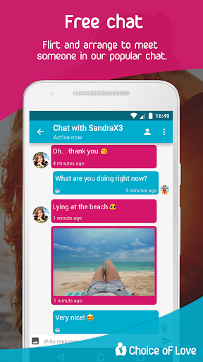 Free Dating & Flirt Chat - Choice of Love 4.5.9-gms Screenshots 3