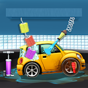 Kids Car Salon Auto Wash Garage