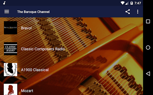 The Baroque Channel - Live Classical Radios Screenshot
