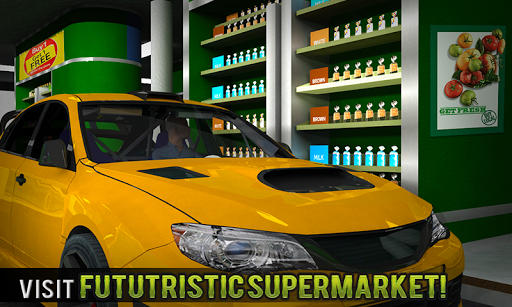 Drive Thru Supermarket: Shopping Mall Car Driving 2.3 Screenshots 1