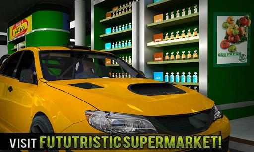 Drive Thru Supermarket: Shopping Mall Car Driving 2.3 screenshots 1