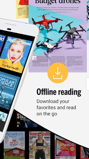 Readly - Unlimited Magazine Reading  screenshots 2