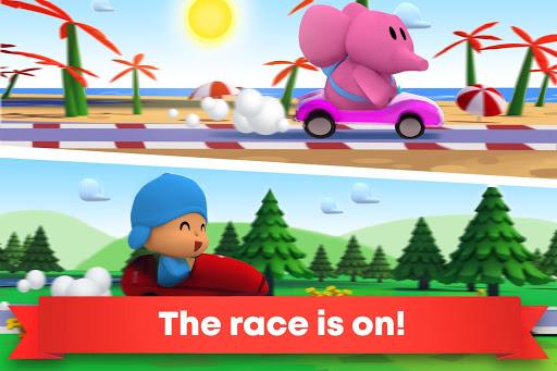 Pocoyo Racing: Kids Car Race - Fast 3D Adventure  screenshots 2