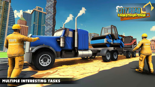 Mega City Road Construction Machine Operator Game 3.9 screenshots 11