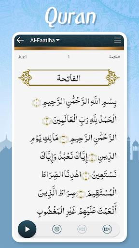 Muslim Pocket - Prayer Times, Azan, Quran & Qibla  screen 1