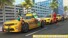 スーパーヒーロー タクシー 車 シミュレーターのおすすめ画像4