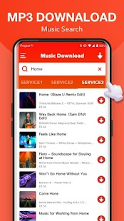 Kostenloser Musik-Download + Mp3 Music Downloader Screenshot