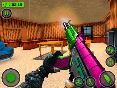 House Destruction Smash Destroy FPS Shooting House Mod Apk (God Mode) 5