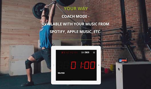 Velites: Workout Interval Timer for CrossFit WOD