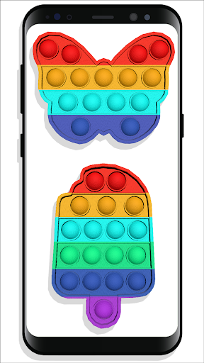 pop it Fidget Cubes - calming sounds making toys screenshots 16