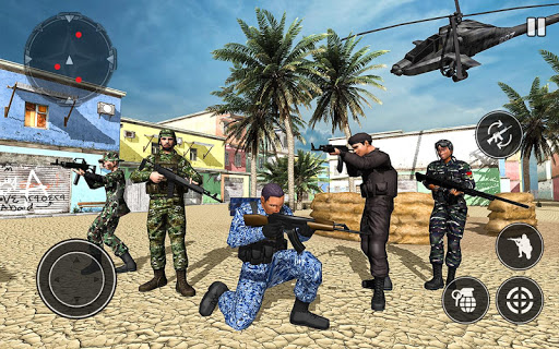 FPS Soldier Free Fire Shooting Game Screenshot 1