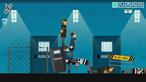 Policeman Jail Playground: Ragdoll Thief  screenshots 9