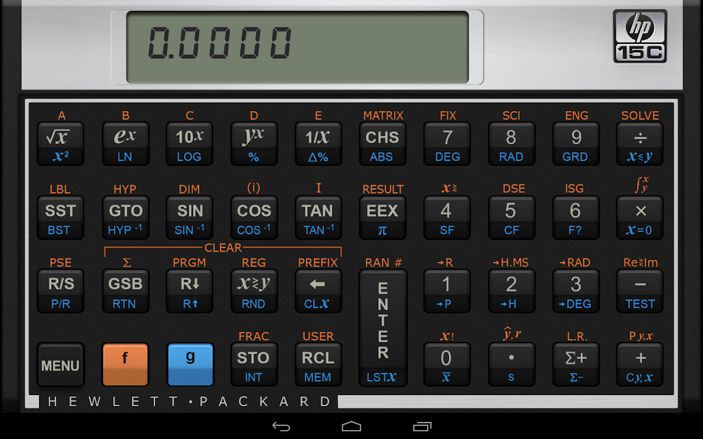 HP 15C Scientific Calculator  poster 8