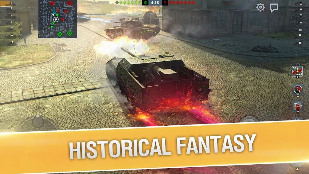 World of Tanks Blitz PVP MMO 3D tank game for free poster 3
