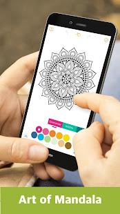 Color Mandala Book -  Mandala Coloring Art