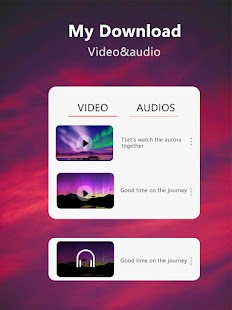 Video downloader & Video to MP3 Screenshot