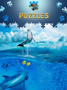 Free Dolphin Jigsaw Puzzles
