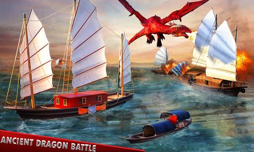Flying Dragon Battle Simulator : City Attack  screenshots 1