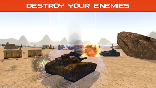 Tank Combat : Iron Forces Battlezone screenshots 12