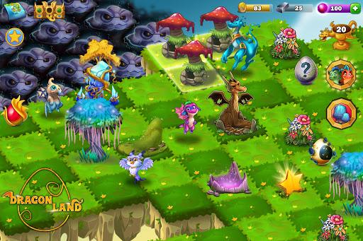 Dragon Land - Merge, Collect & Evolve Dragons! screenshots 12