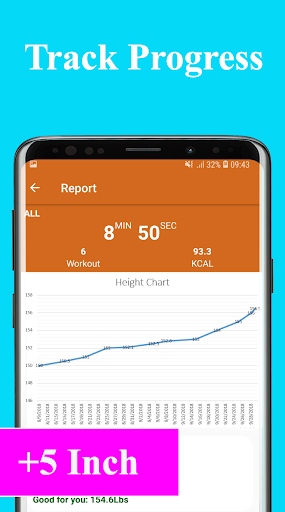 Height Increase Exercise - Workout height increase  Screenshots 8