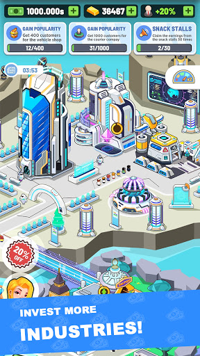 Idle Investor Tycoon - Build Your City 2.4.0 screenshots 2